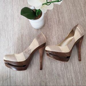 Jessica Simpson Wood Heels